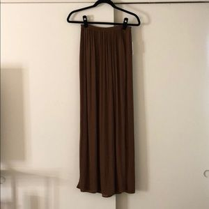 Chestnut maxi skirt never worn, new with tags